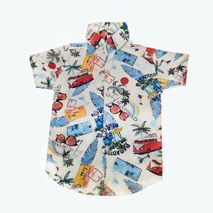 پیراهن پسرانه مدلهاوایی