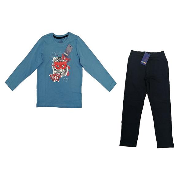 ست تی شرت و شلوار پسرانه لوپیلو مدل 3557777