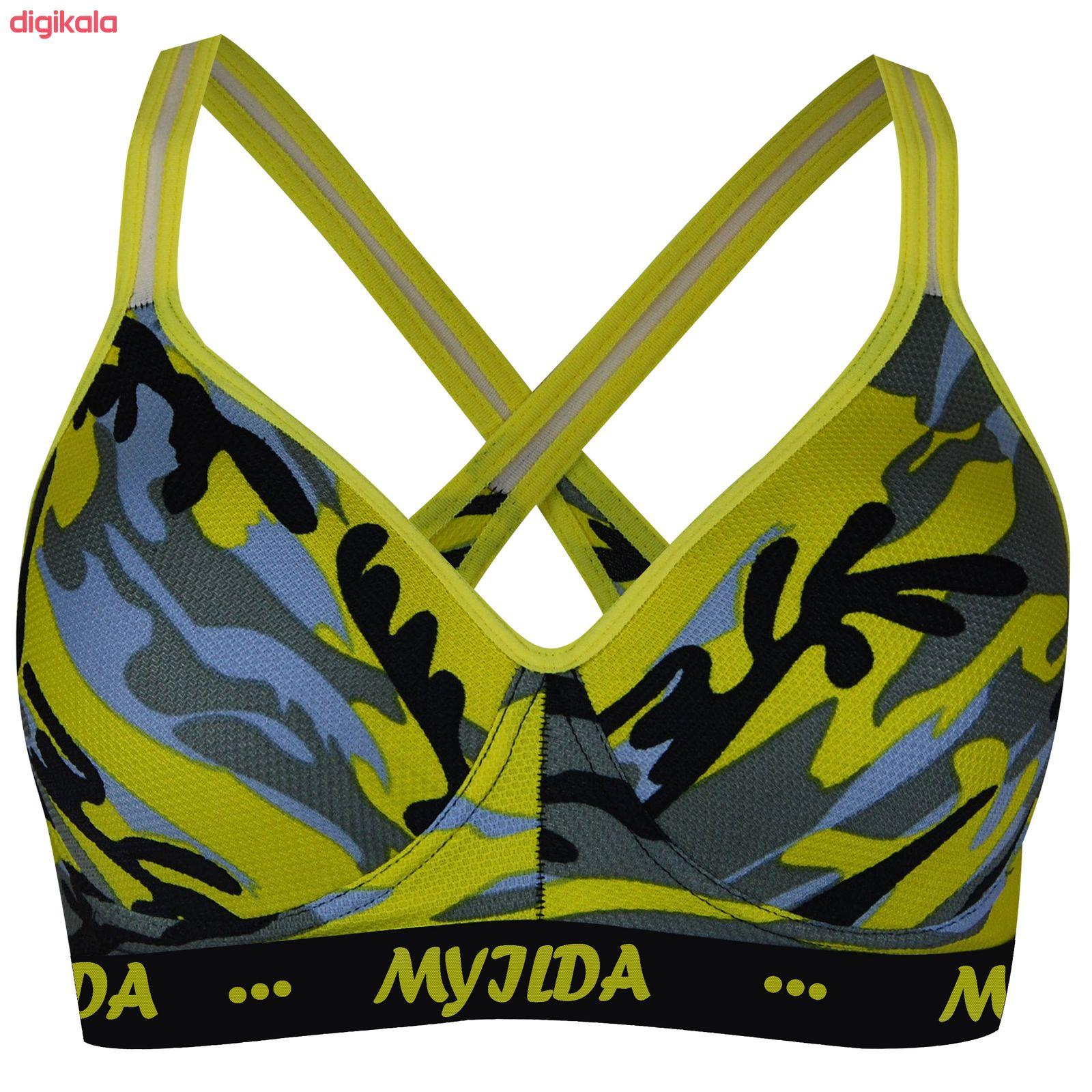 نیم تنه ورزشی زنانه ماییلدا مدل 3532-5 main 1 1