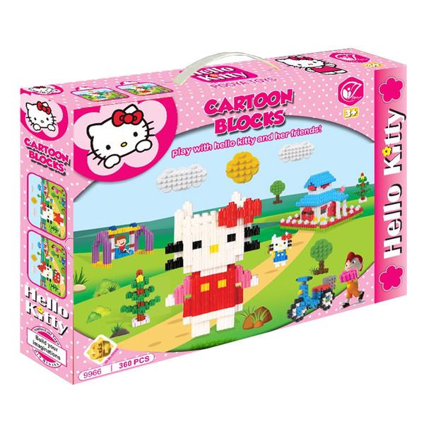 ساختنی پویا تویز مدل Hello Kitty کد 1-9966