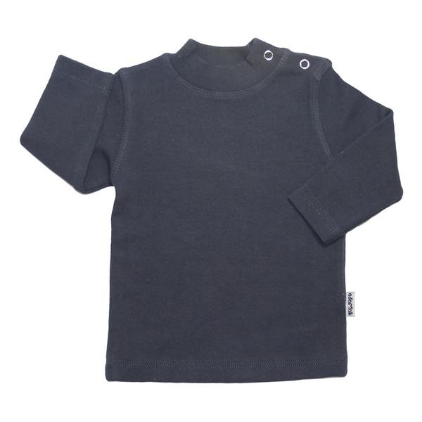 تی شرت آستین بلند آدمک کد 148401 رنگ نوک مدادی