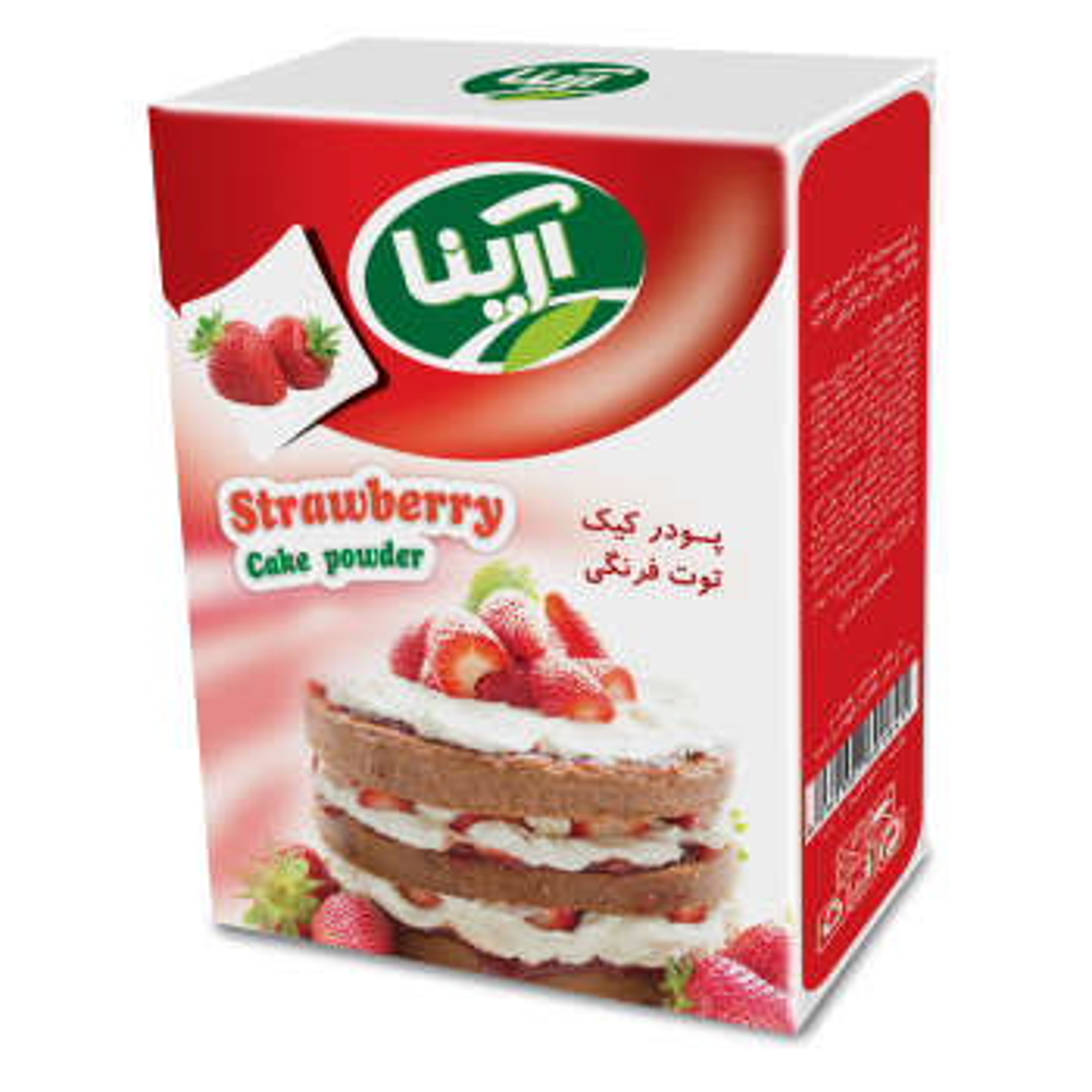 پودر کیک توت فرنگی آرینا - 500 گرم