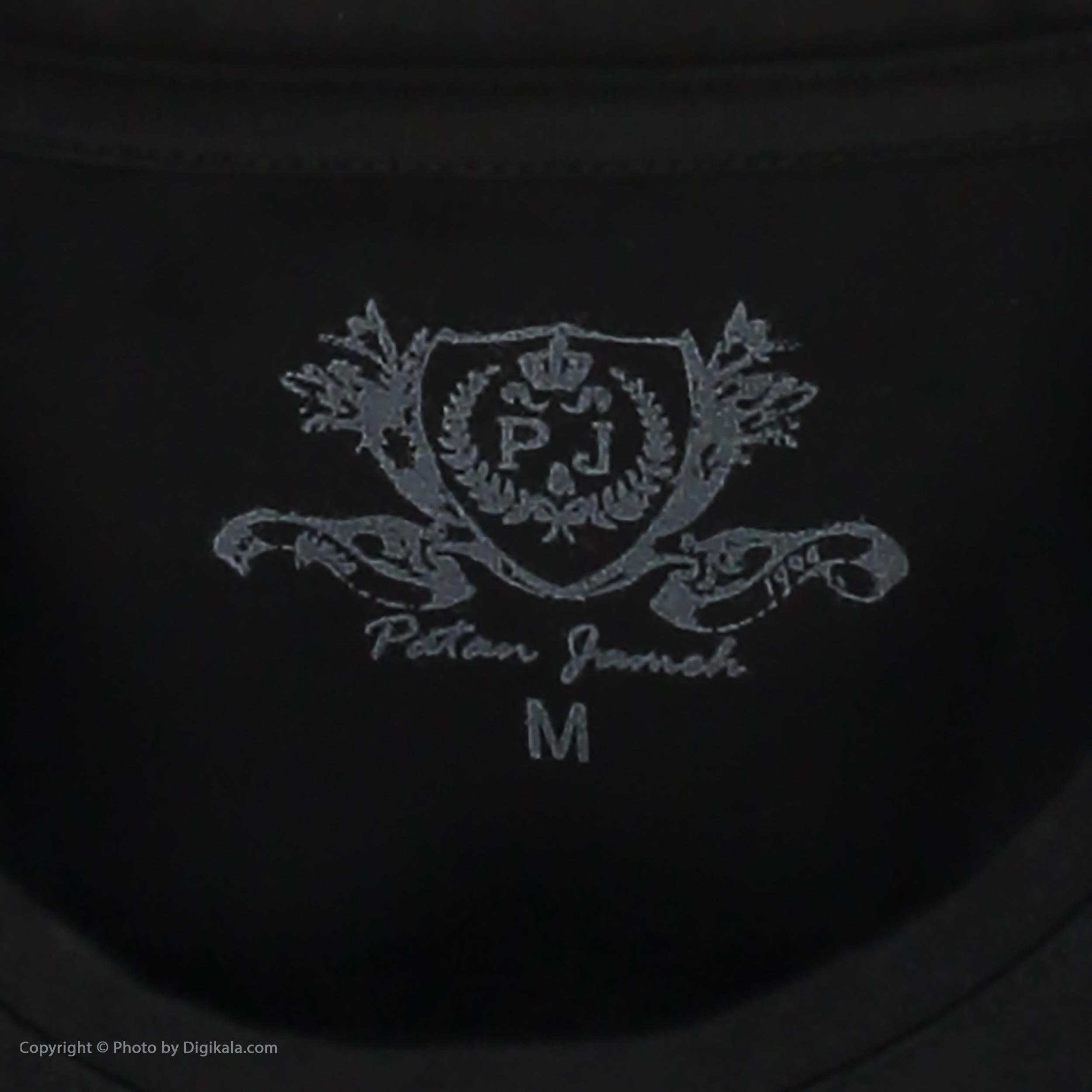 تی شرت مردانه پاتن جامه مدل 99M5224 رنگ مشکی -  - 5