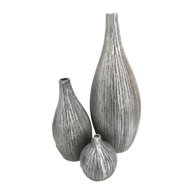 گلدان مدل سالونگ مجموعه 3 عددی