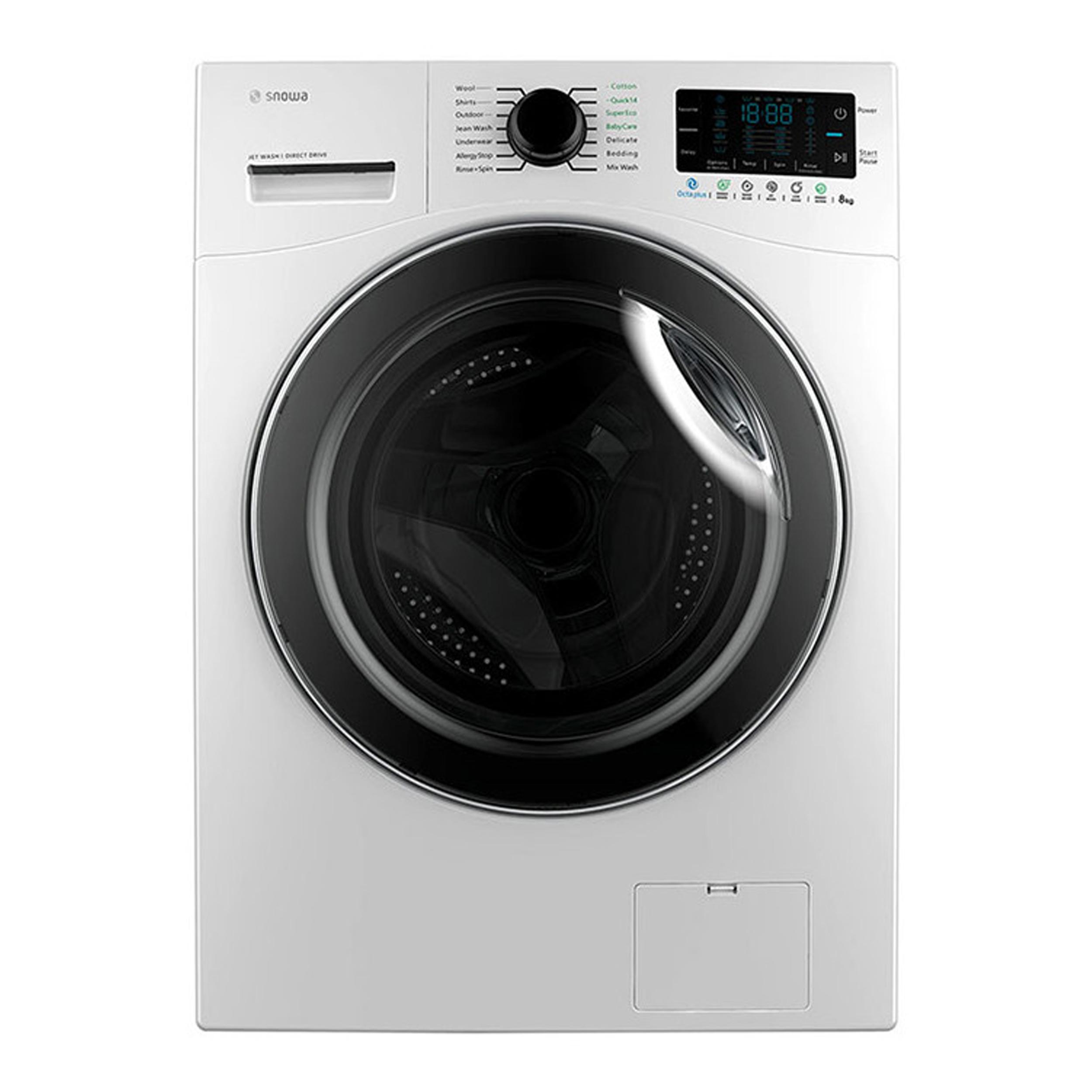 ماشین لباسشویی اسنوا مدل SWM-84516 ظرفیت 8 کیلوگرم main 1 1
