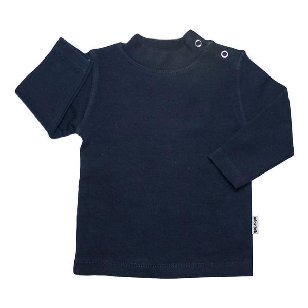 تی شرت آستین بلند آدمک کد 148401 رنگ سرمه ای