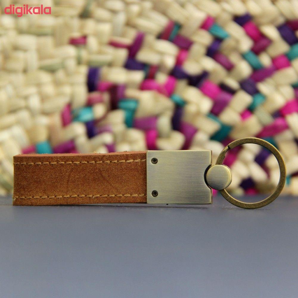 جاکلیدی چرم بیسراک کد Key.H-502 main 1 8