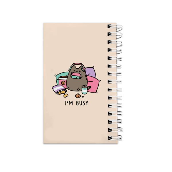 دفترچه یادداشت مدلto do list طرح گربه فانتزی کد abc-9389
