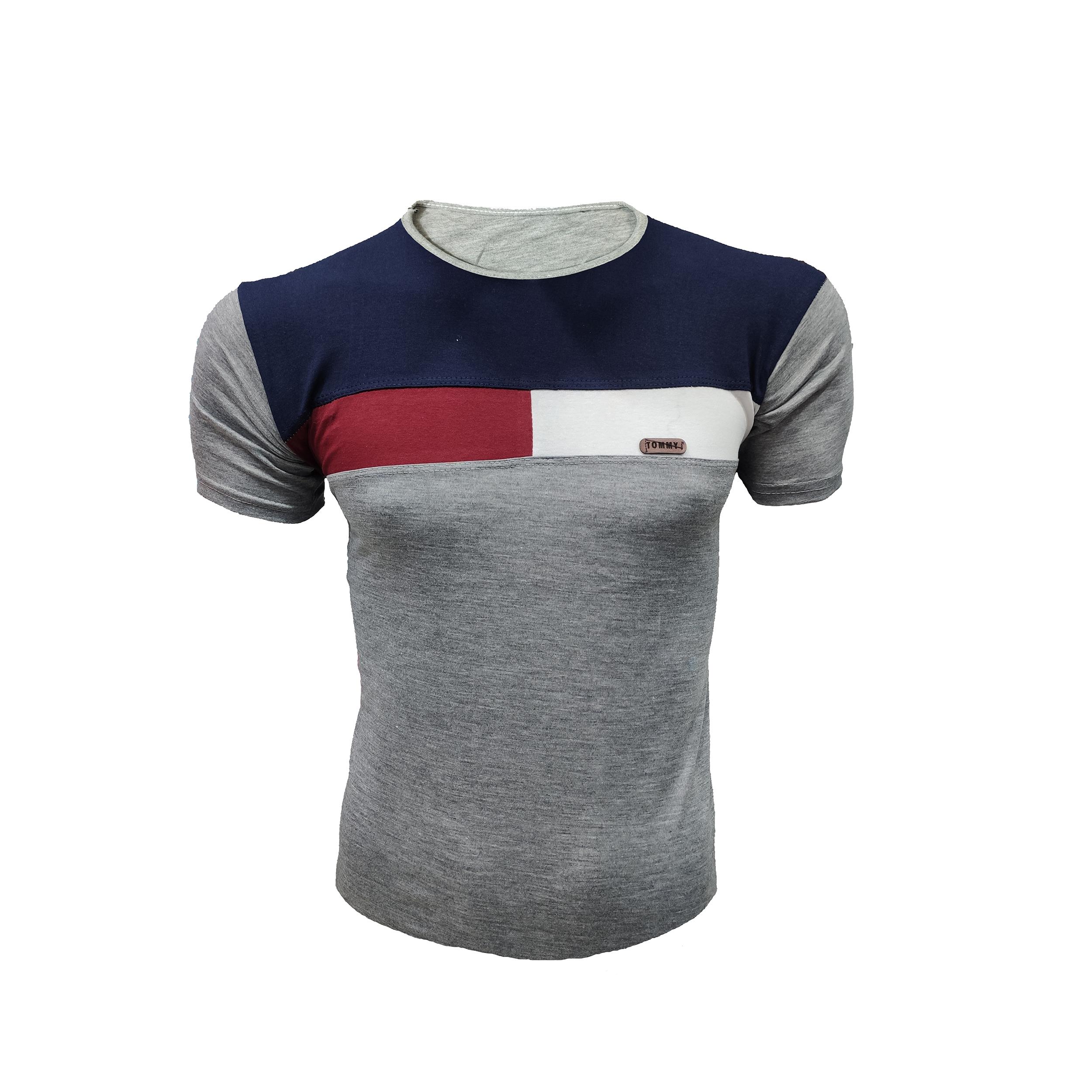 تی شرت آستین کوتاه مردانه مدل MTOMT                     غیر اصل