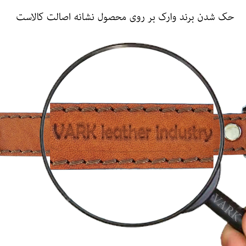 دستبند چرم وارک مدل رادینکدrb303 thumb 3