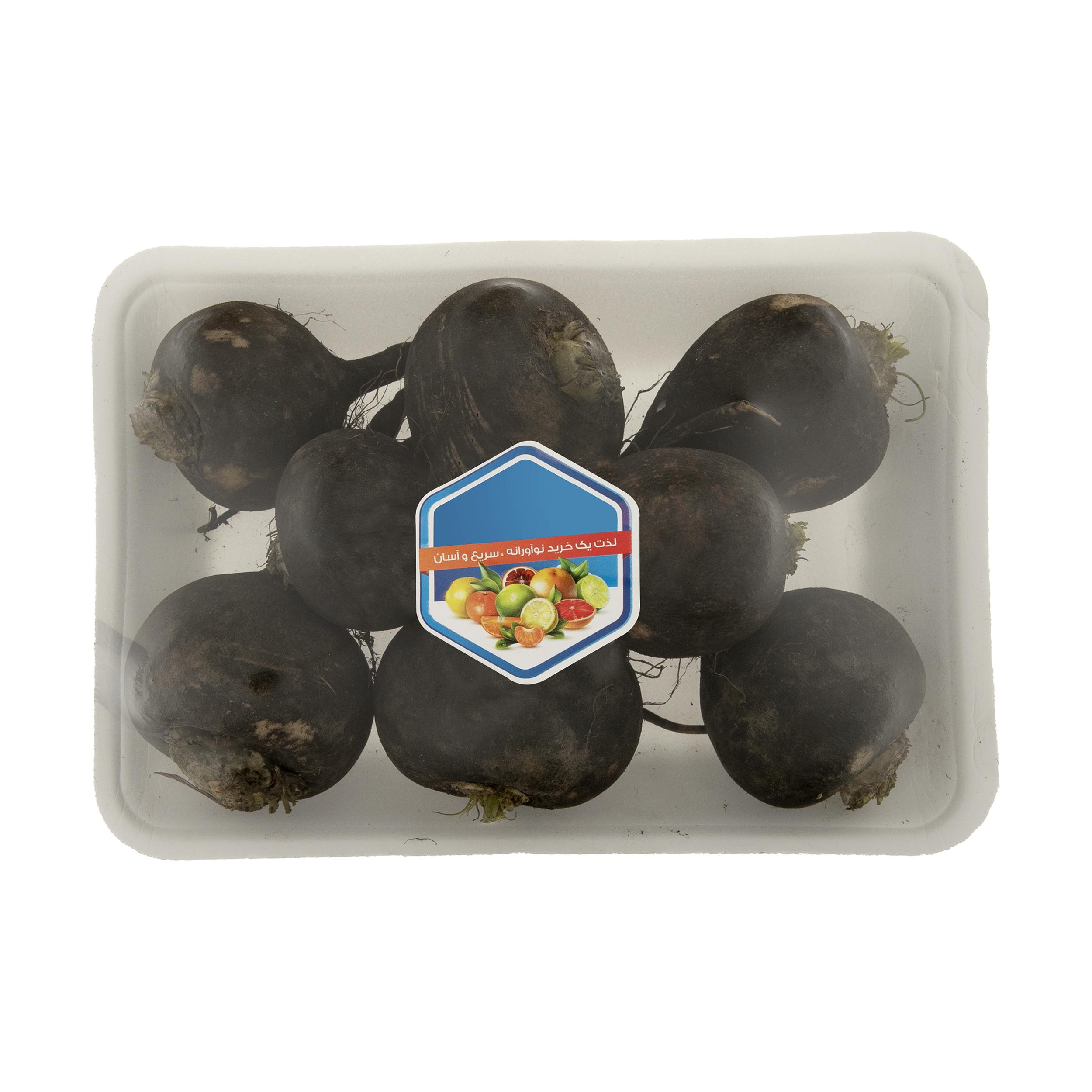 ترب سیاه میوه پلاس - 1 کیلوگرم