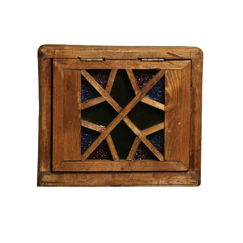 صندوق چوبی طرح ستاره کد vi-2