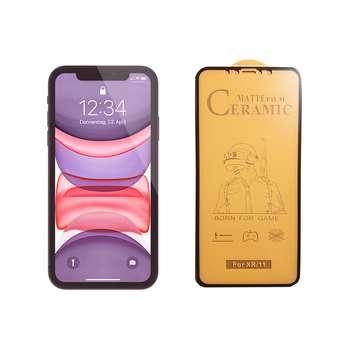 محافظ صفحه نمایش سرامیکی مدل FLCRM01pr مناسب برای گوشی موبایل اپل iPhone 11
