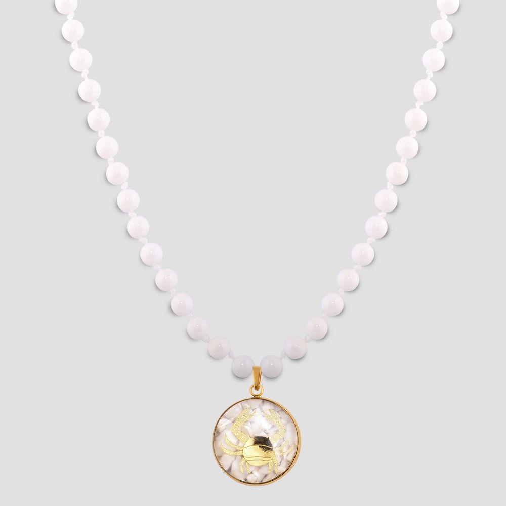 گردنبند زنانه الون طرح نماد ماه تیر کد SAD102