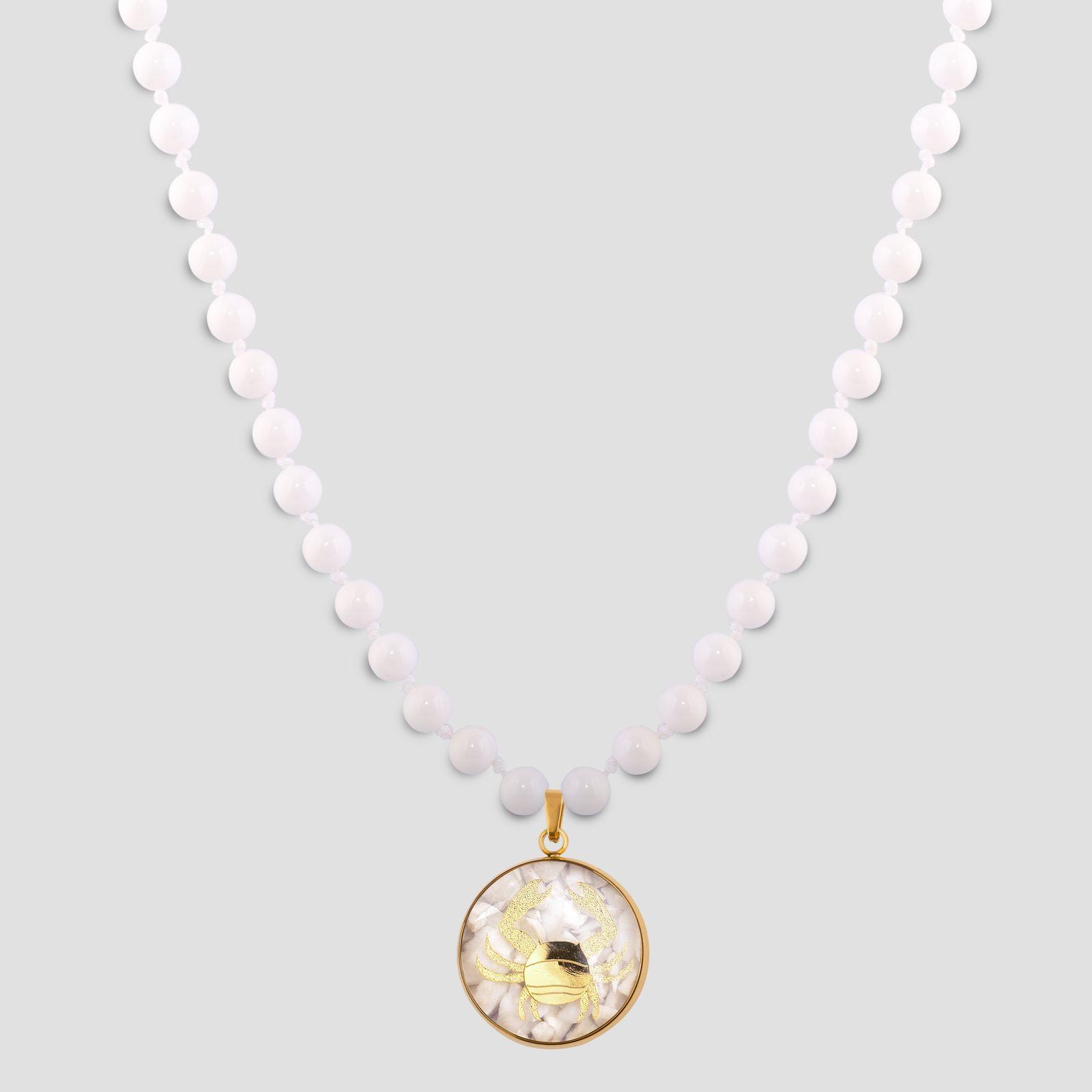 گردنبند زنانه الون طرح نماد ماه تیر کد SAD102 -  - 2