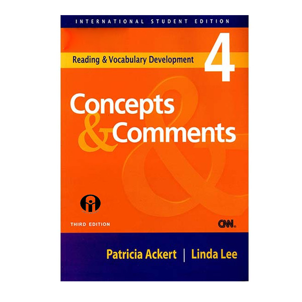 کتاب Concepts and Comments 4 اثر Patricia Ackert and Linda Lee انتشارات الوندپویان