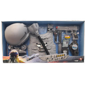اسباب بازی جنگی مدل خلبانی مجموعه 9 عددی