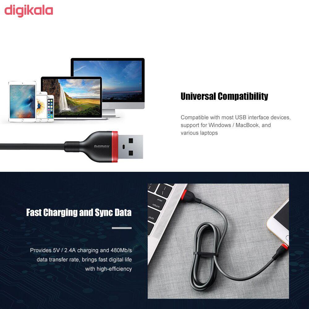 کابل تبدیل USB به لایتنینگ ریمکس مدل RC-126i طول 1 متر main 1 5