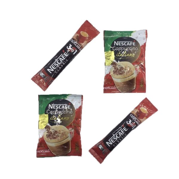کاپوچینو نسکافه بسته 2 عددی به همراه قهوه فوری نسکافه بسته 2 عددی