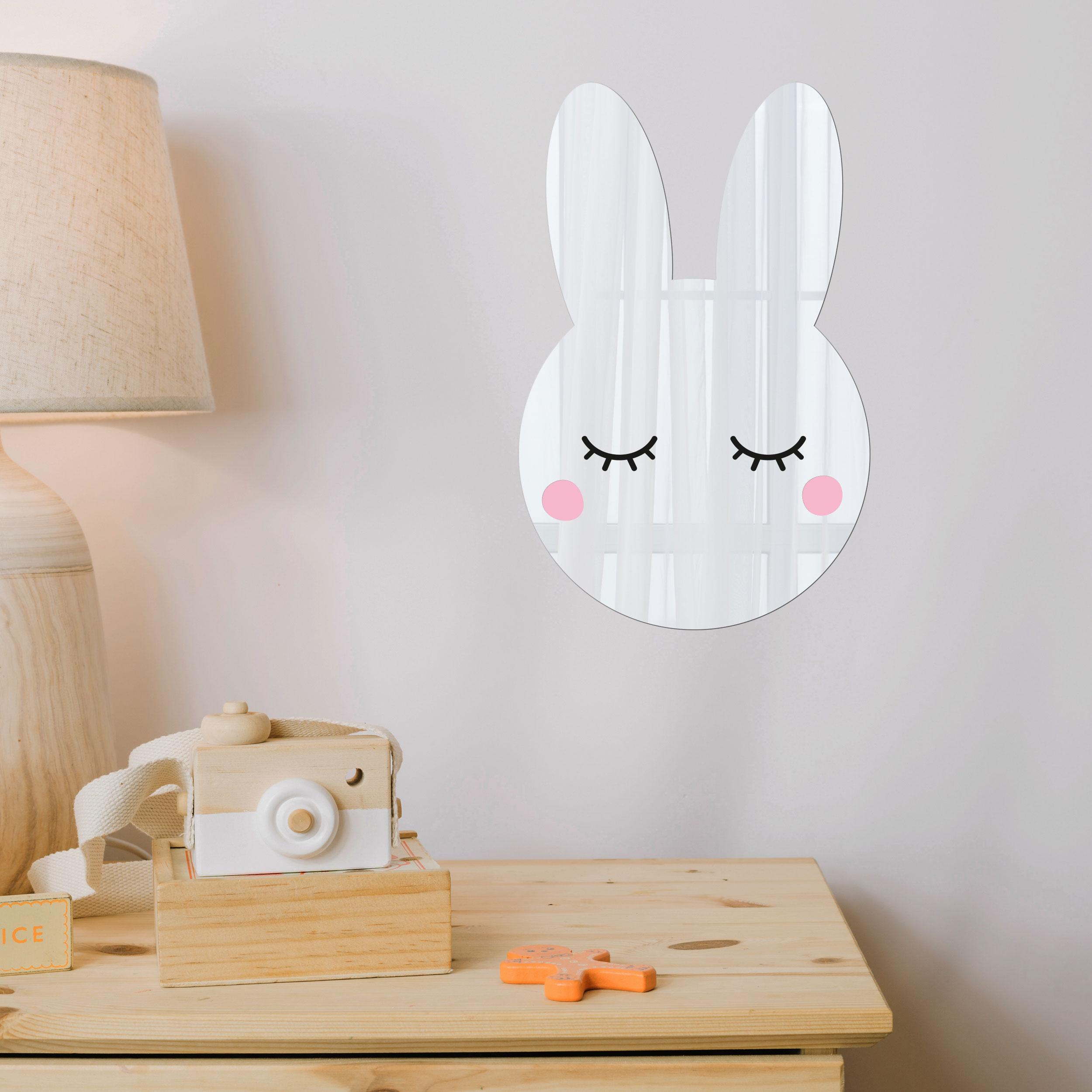 آينه فانتزی طرح خرگوش