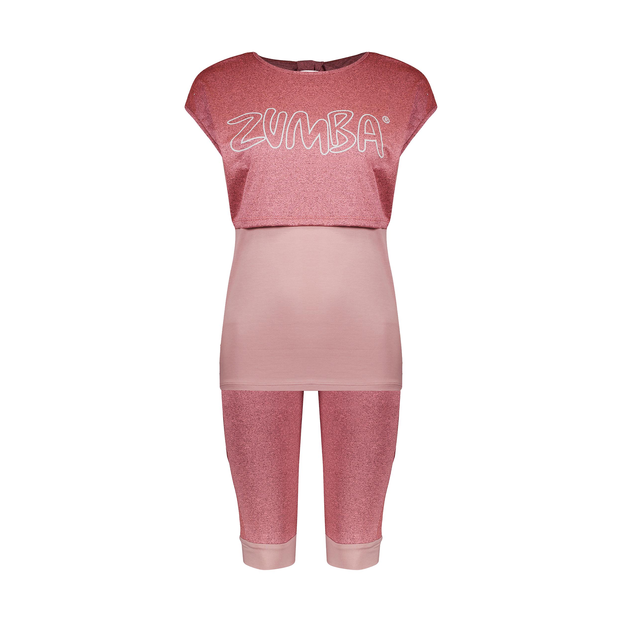 ست 3 تکه لباس ورزشی زنانه کد Mhr-1016
