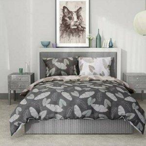 سرویس رو تختی روژان خواب مدل برگ دو نفره ۶ تکه
