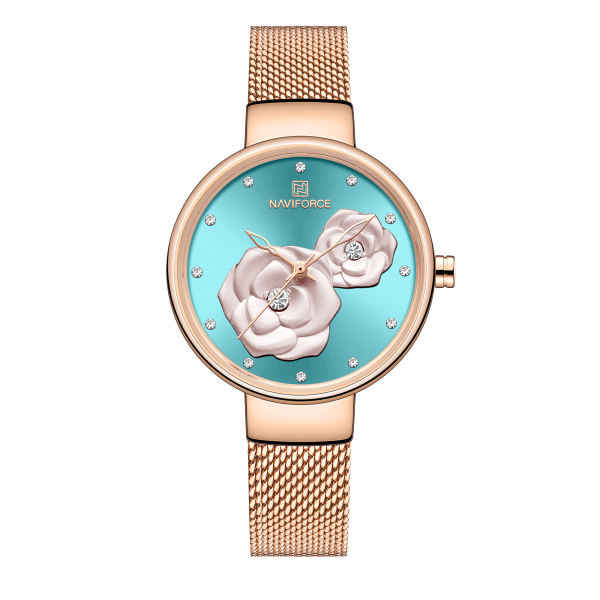 خرید و قیمت                      ساعت مچی  زنانه نیوی فورس کد NF5013L -RG-BE