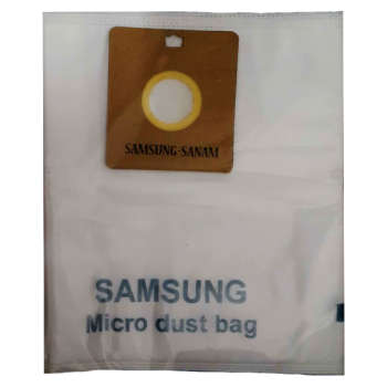 کیسه جاروبرقی مدل میکرو بسته 4 عددی مناسب برای جاروبرقی سامسونگ و صنام