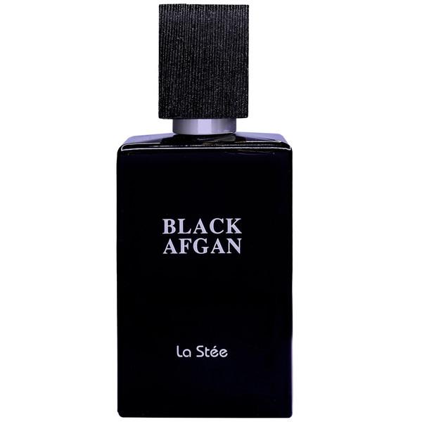 ادو پرفیوم مردانه لا استی مدل Black Afgan حجم 100 میلی لیتر