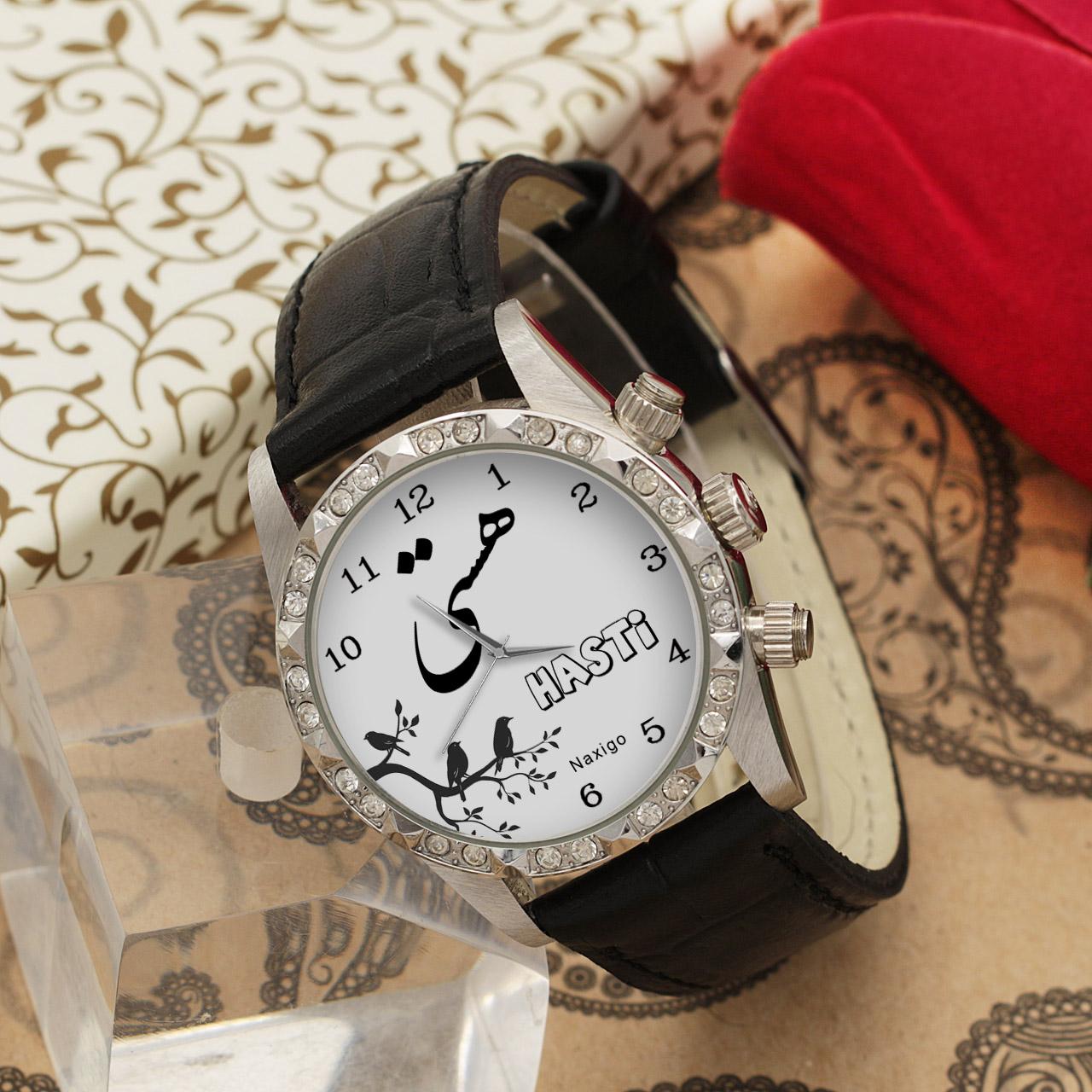 خرید و قیمت                      ساعت مچی  زنانه ناکسیگو طرح هستی کد LS3775