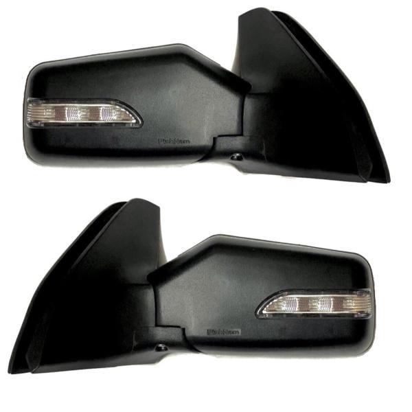 آینه جانبی خودرو راهنمادار پیشنام مدل SSH PRIDE LED مناسب برای پراید بسته دو عددی