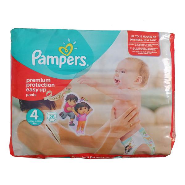 پوشک کودک  پمپرز مدل premium protection easy up سایز 4  بسته 28 عددی