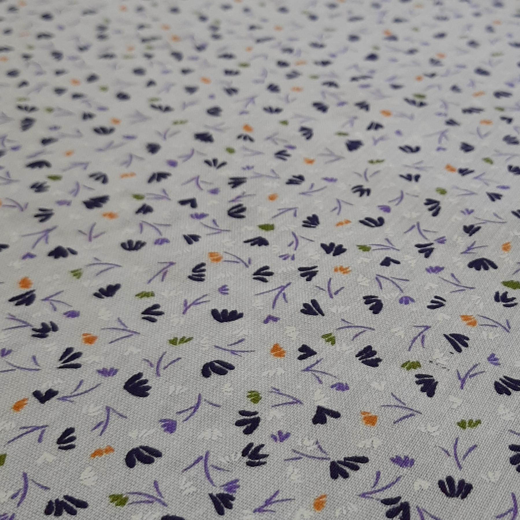 خرید                      پارچه چادری طرح گل مدل h018