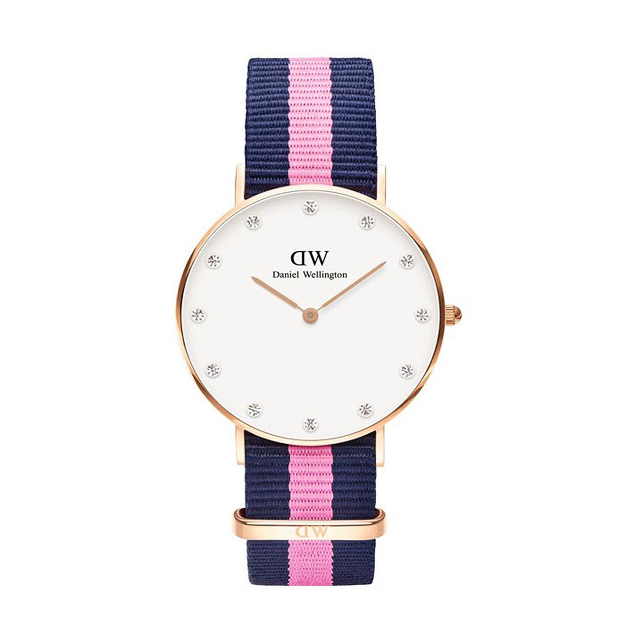 ساعت مچی عقربه ای زنانه دنیل ولینگتون مدل DW00100077              خرید (⭐️⭐️⭐️)
