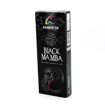 عود آمریا مدل NATURAL DHOOP BLACK MAMBA