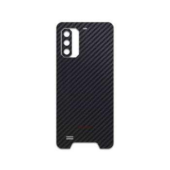 برچسب پوششی ماهوت مدل Carbon-Fiber مناسب برای گوشی موبایل یولفون Armor 7