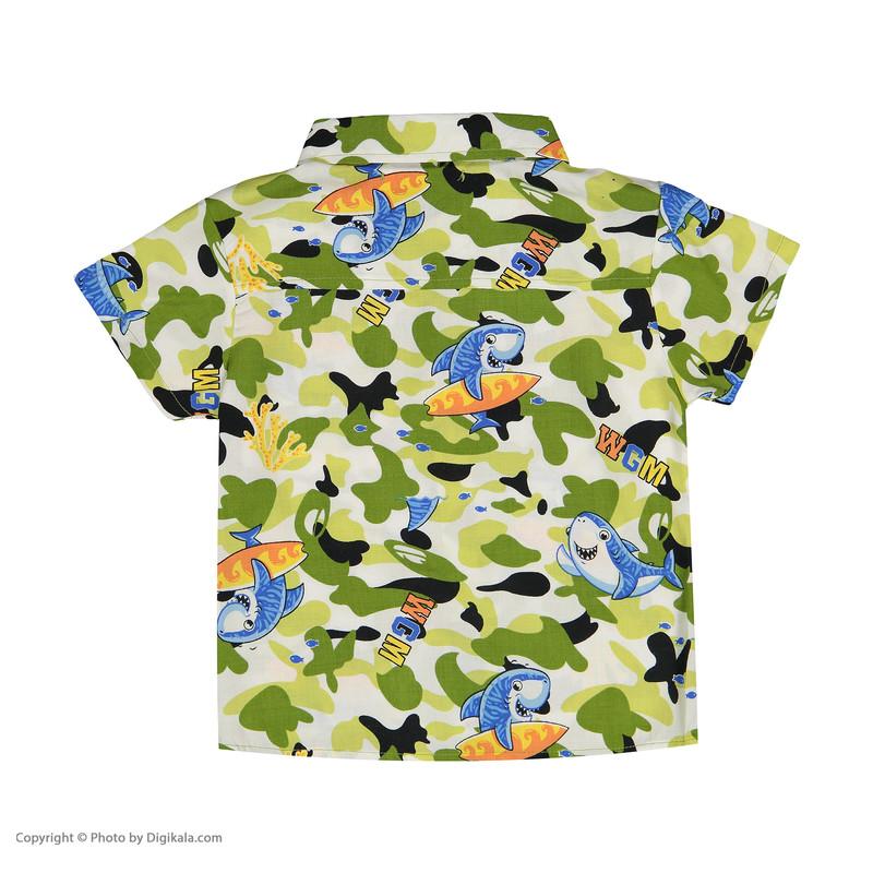 پیراهن پسرانه بی کی مدل 2211258-0142