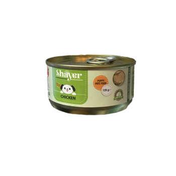 کنسرو غذای سگ شایر مدل Chicken وزن 120 گرم