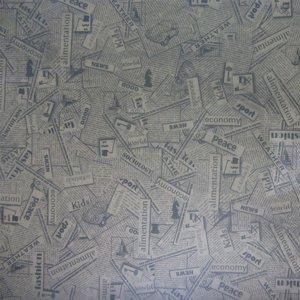 کاغذ کادو مدل روزنامه ای کد 18