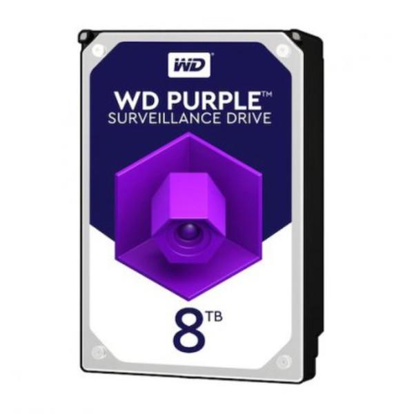 هارددیسک اینترنال وسترن دیجیتال مدل Purple WD82EJRX ظرفیت 8 ترابایت