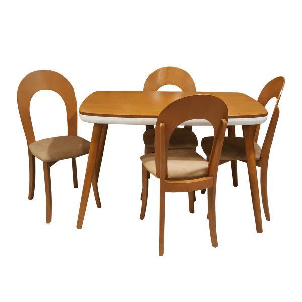 میز و صندلی ناهارخوری مدل d121