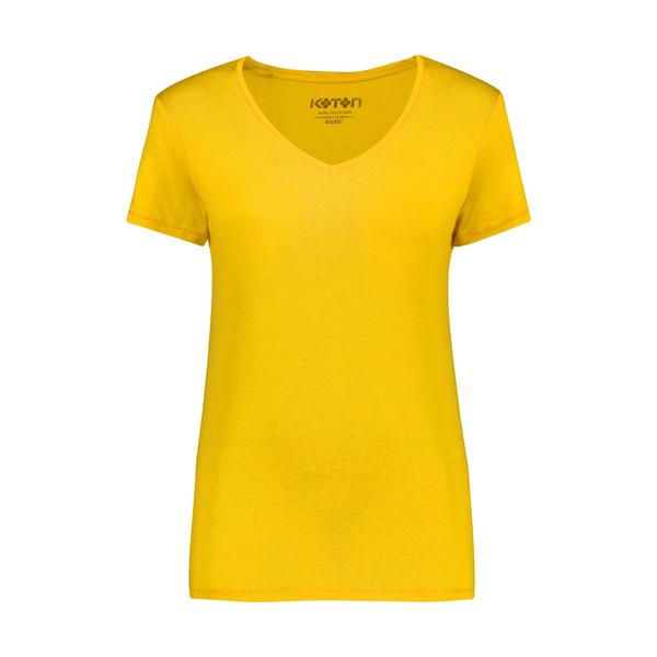 تی شرت زنانه کوتون مدل 0YAK13640OK-Mustrad