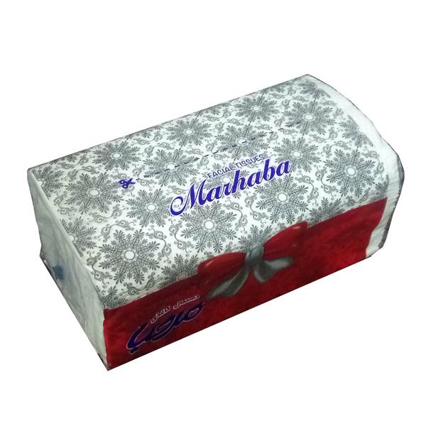 دستمال کاغذی 100 برگ مرحبا مدل رومیزی