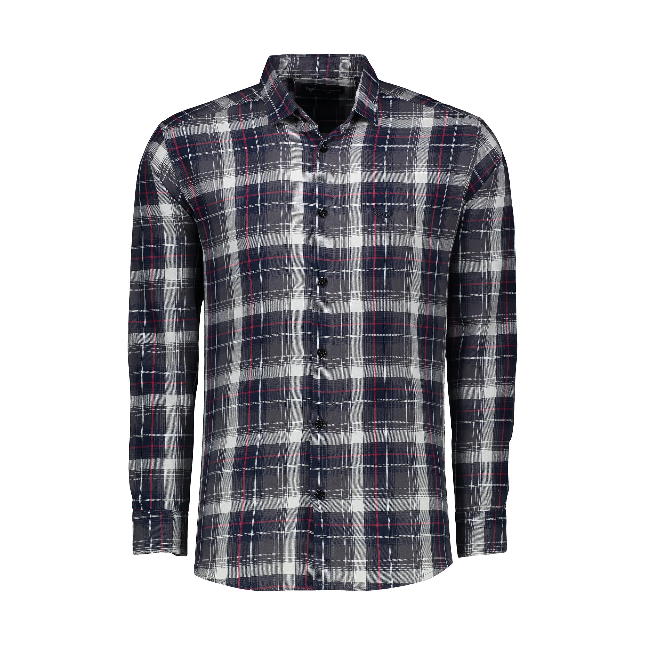 پیراهن آستین بلند مردانه پیکی پوش مدل M02518