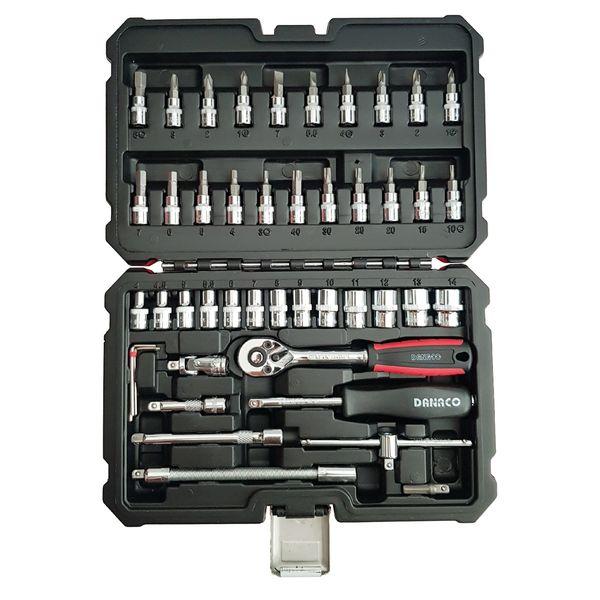 مجموعه 46 عددی ابزار داناکو مدل DX3906246
