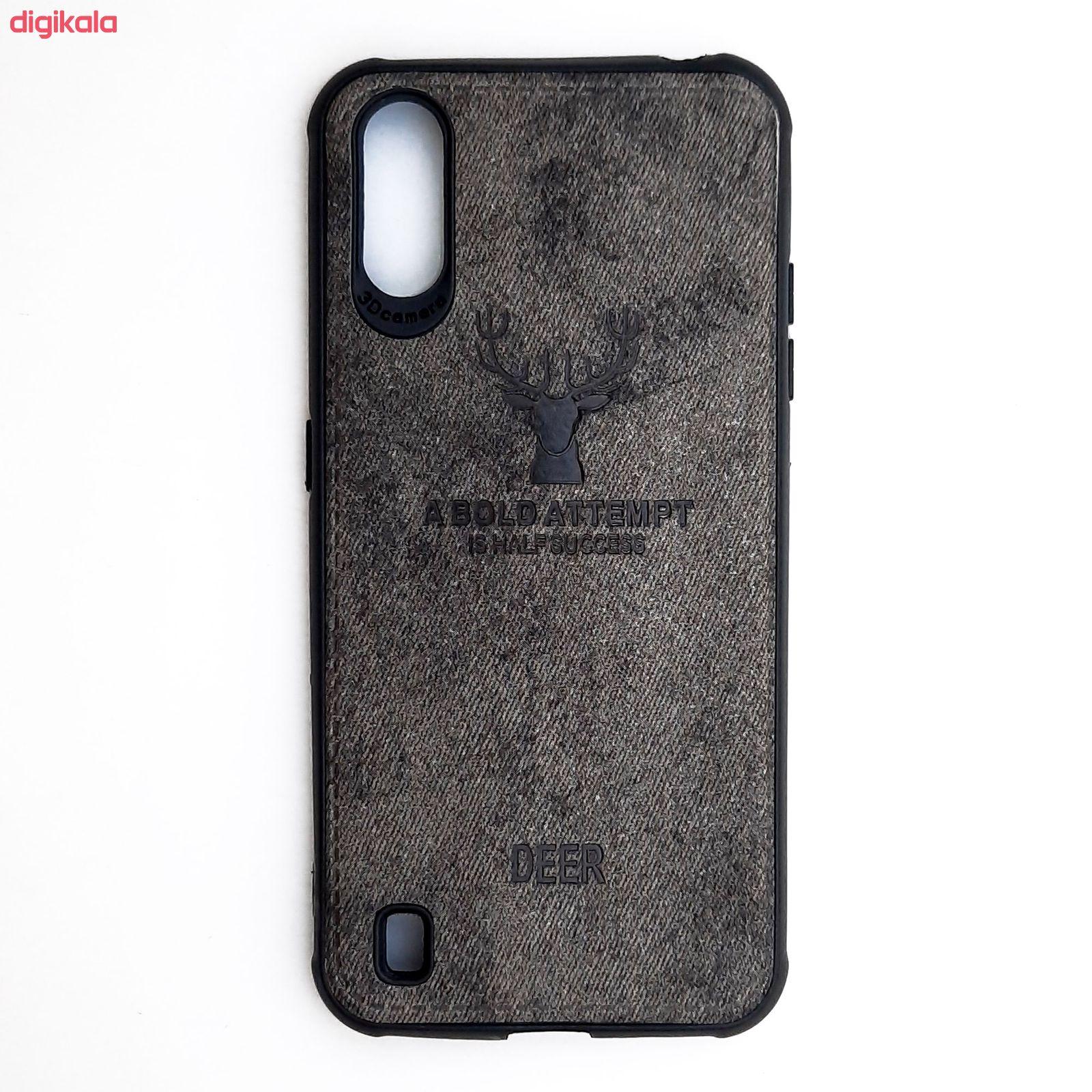 کاور مدل CO503 طرح گوزن مناسب برای گوشی موبایل سامسونگ Galaxy A01 main 1 10