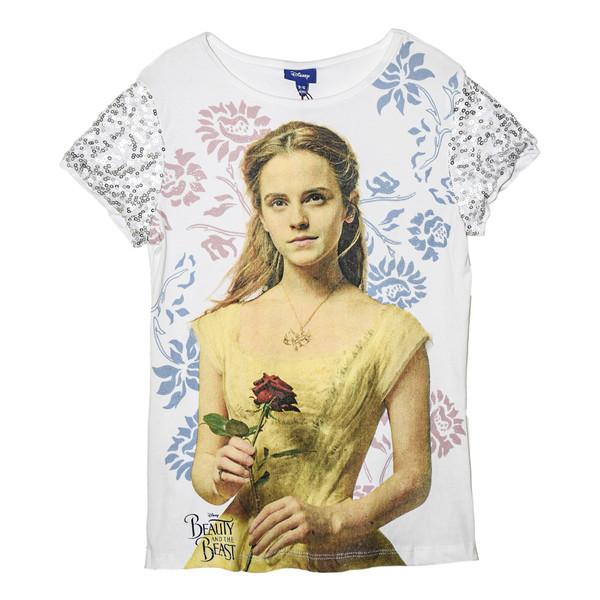 تی شرت آستین کوتاه دخترانه دیزنی کد LU-1508981