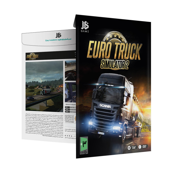 بازی Euro Track Simulator 2 مخصوص PC نشر جی بی تیم