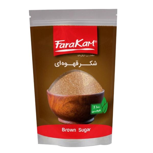 شکر قهوه ای فراکام - 500 گرم