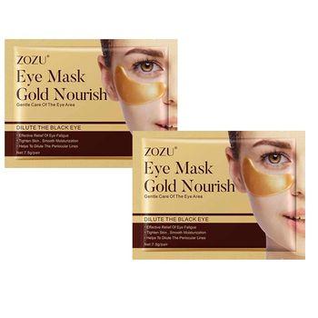 ماسک زیر چشم زوزو مدل طلا وزن 7.5 گرم مجموعه 2 عددی